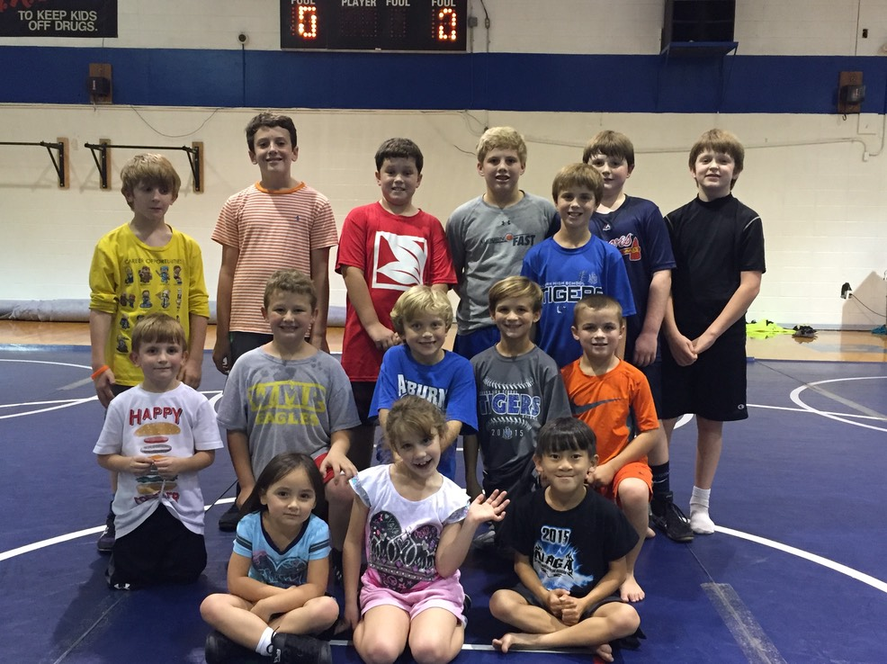 20151112 - Youth wrestlers