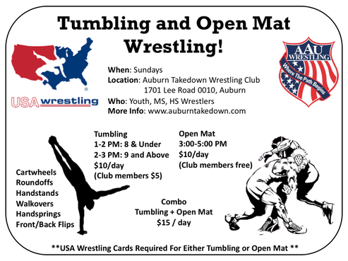 20191111 Tumbling Open Mat